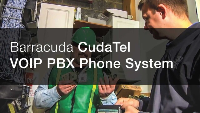 CudaTel VOIP PBX Telephone System – Powered by Barracuda Networks