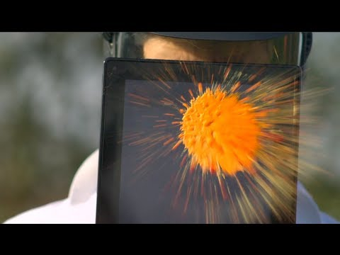 Tablet vs Paintballs – The Slow Mo Guys